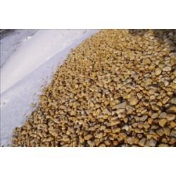 Kies 16 - 32 mm - gelb / beige - lose - ca. 0,55m³ - ca.1t