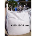 Kies 16 - 32 mm - gelb / beige - BIG BAG - ca. 0,5m³ - ca.850kg