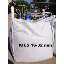 Kies 16 - 32 mm - gelb / beige - BIG BAG - ca. 0,5m³ - ca.850kg