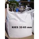 Kies 32 - 65 mm - gewaschen - BIG BAG - ca. 0,5m³ - ca.850kg