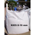 Kies 8 - 16 mm - weiss - BIG BAG - ca. 0,5m³ - ca.850kg
