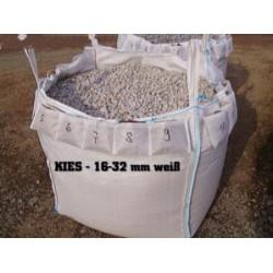 kies 16 32 mm weiss big bag ca 0 5m art. Black Bedroom Furniture Sets. Home Design Ideas