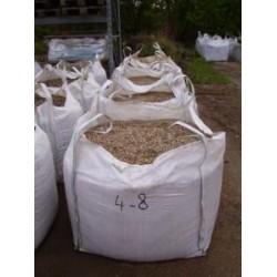 Kies 4 - 8 mm - gewaschen - BIG BAG - ca. 0,5m³ - ca.850kg
