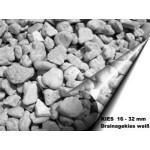 Kies 16 - 32 mm - weiss - lose - ca. 0,55m³ - ca.1t
