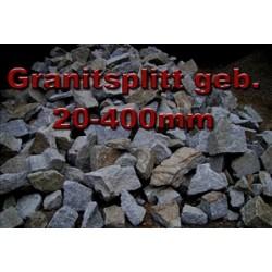 Gabionen - Füllmaterial - GRANIT - grau / schwarz / gelb - lose