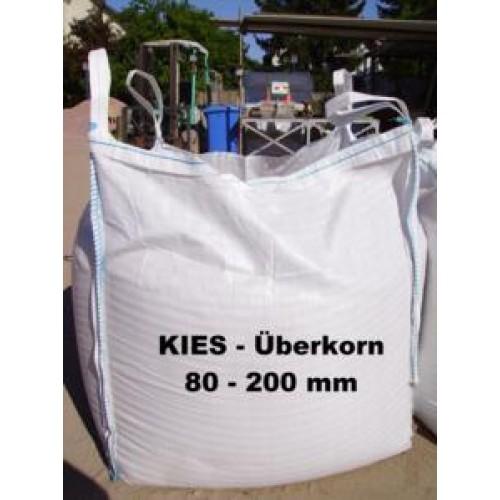 Super Kies 80 - 200 mm - gewaschen - BIG BAG - ca. 0,5m³ - Art.- Nr.212 GI18