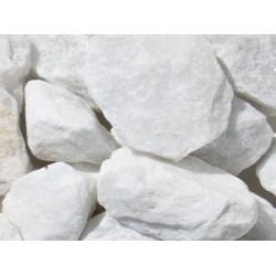 Gabionen - Füllmaterial -  BIG BAG - 0,5m³ - ca.750kg - Extra White - Marmor - Bruchstein