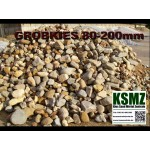 Gabionen - Füllmaterial - Rundkorn KIES - Naturbunt - lose - ca. 0,55m³ - ca.1t