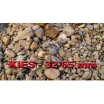 Kies 32 - 65 mm - gewaschen - lose - ca. 0,55m³ - ca.1t