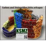 Gabionen - Füllmaterial -  BIG BAG - 0,5m³ - ca.750kg - Flat Pebbles  - Kies