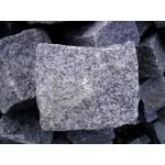 Granitpflaster 15 x 17 cm - Granit - weiss / schwarz / grau - BIG BAG - ca. 2,8m² - ca.1t