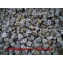 Granitpflaster 4 x 6 cm - Granit - weiss / schwarz / grau - lose - ca. 8,5m² - ca.1t