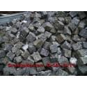 Granitpflaster 8 x 11 cm - Granit - weiss / schwarz / grau - lose - ca. 4,5m² - ca.1t