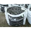 Granitpflaster 4 x 6 cm - Granit - schwarz - BIG BAG - ca. 8,5m² - ca.1t