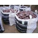 Granitpflaster 8 x 11 cm - Granit - rot - BIG BAG - ca. 4,5m² - ca.1t
