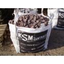 Granitpflaster 4 x 6 cm - Granit - rot - BIG BAG - ca. 8,5m² - ca.1t