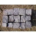 Granitpflaster 4 x 6 cm - Granit - schwarz - lose - ca. 8,5m² - ca.1t