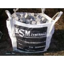 Granitpflaster 4 x 6 cm - Granit - weiss / schwarz / grau - BIG BAG - ca. 8,5m² - ca.1t
