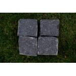 Granitpflaster 8 x 11 cm - Granit - schwarz - BIG BAG - ca. 4,5m² - ca.1t