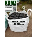 Splitt 63 - 125 mm - Basalt - schwarz / grau - BIG BAG - 0,5m³ - ca.850kg