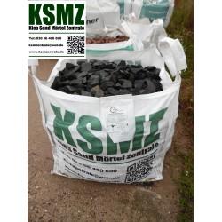 Splitt 32 - 65 mm - Basalt - schwarz / grau - BIG BAG - 0,5m³ - ca.850kg