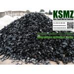 Splitt 32 - 65 mm - Basalt schwarz / grau - lose - 0,55m³ - ca.1t