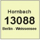 13088 Berlin-Weissensee