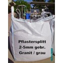 Splitt 2 - 5 mm - Granit - grau - BIG BAG - ca. 0,5m³ - ca.850kg