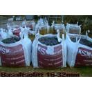SPLITT > 8 - 16 mm > Basalt >  (Schwarz-grau)