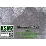 Splitt 0 - 2 mm -  Eolit - schwarz / grau - lose - 0,55m³ - ca.1t