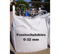 Kies 0 - 32 mm - gesiebt - BIG BAG - ca. 0,5m³ - ca.850kg