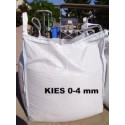 Kies 0 - 4 mm - gesiebt - BIG BAG - ca. 0,5m³ - ca.850kg