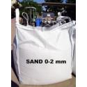 Sand 0 - 2 mm - gewaschen - BIG BAG - ca. 0,5m³ - ca.850kg