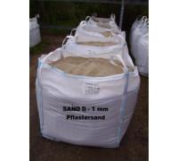 Sand 0 - 1 mm -  gesiebt -  BIG BAG - ca. 0,5m³ - ca.850kg