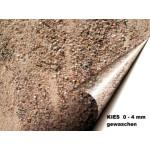 Kies 0 - 4 mm - gewaschen - lose - ca. 0,55m³ - ca.1t