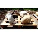 FELDSTEINE - Unikat >>> 5 Steine ca.- 158 kg