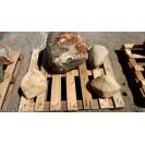 FELDSTEINE - Unikat >>> 4 Steine ca.- 200 kg