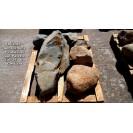 FELDSTEINE - Unikat >>> 6 Steine ca.- 254 kg