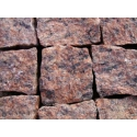Beschreibung >>> Granitpflaster 8 x 11 cm - Granit (rot) - lose - Art.- Nr.405