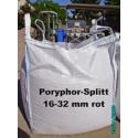 Beschreibung >>> Splitt 16 - 32 mm - Porphyr - rot - BIG BAG - Art.- Nr.228