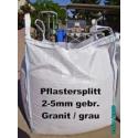 Beschreibung >>> Splitt 2 - 5 mm - Granit - grau - BIG BAG - Art.- Nr.223